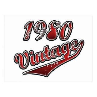 Vintage el an o 80 postal