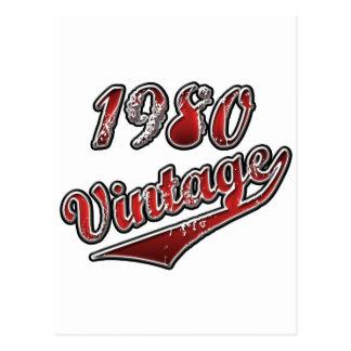 Vintage el an o 80 tarjetas postales