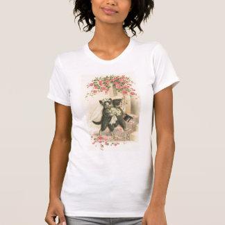Vintage el boda 1 camiseta