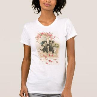 Vintage el boda 2 camiseta