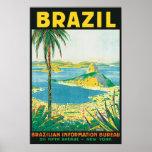 Vintage el Brasil Impresiones