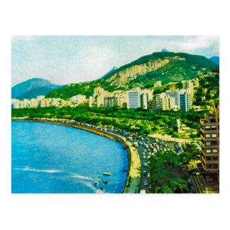 Vintage el Brasil, Río de Janero Postales