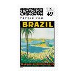 Vintage el Brasil Suramérica Sellos