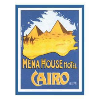 Vintage El Cairo Egipto Postal