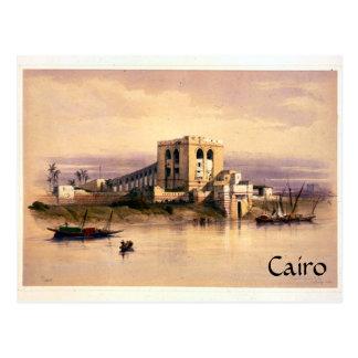 Vintage El Cairo Postal