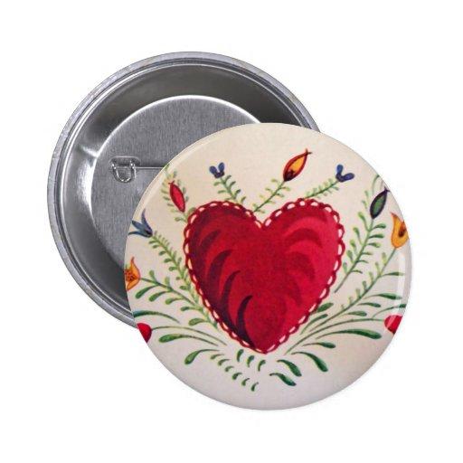 Vintage: El día de San Valentín - Pin