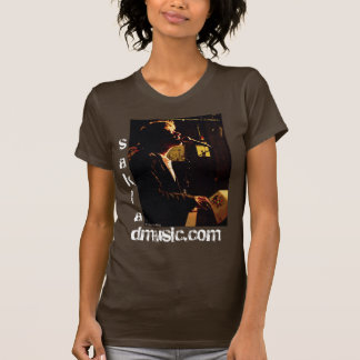 Vintage El Pianist silhouette Tshirts