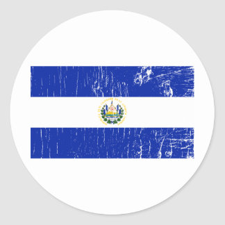 Vintage El Salvador Sticker