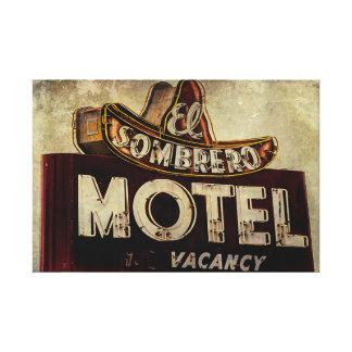 Vintage El Sombrero Motel Sign