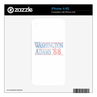 Vintage Election Campaign Distressed Decal For The iPhone 4
