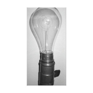 """Vintage Electric"" Antique Light Bulb Wall Art"