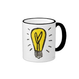 Vintage Electric Company Ringer Mug