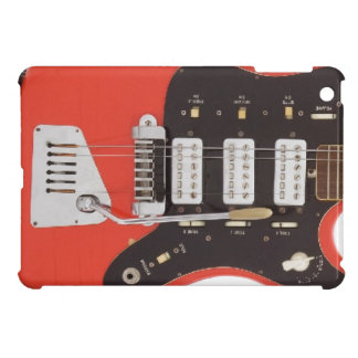 Vintage Electric Guitar Abstract Ipad Mini Case