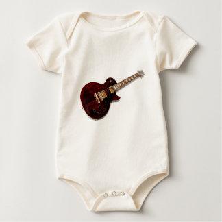 Vintage Electric Guitar Baby Bodysuit