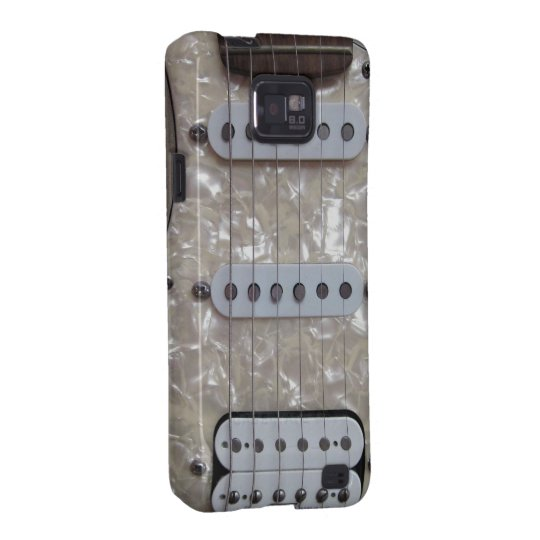 Vintage Electric Guitar Galaxy SII Cover