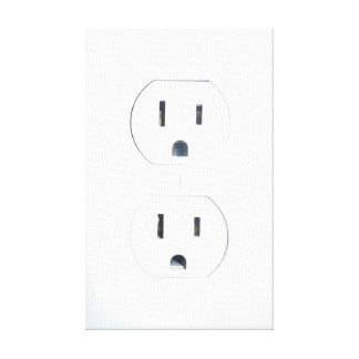 """""""Vintage Electric"""" Power Outlet Wall Art"""