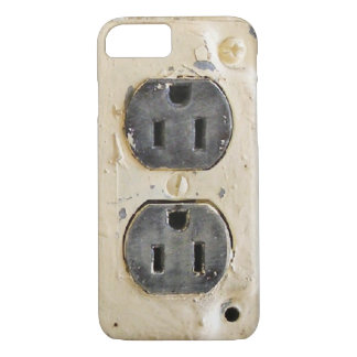 Vintage Electrical Outlet iPhone 8/7 Case