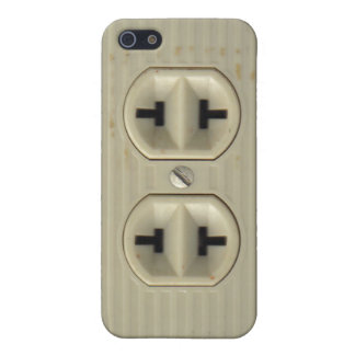 Vintage Electrical Socket iPhone SE/5/5s Case
