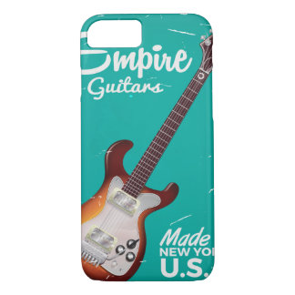 Vintage electronic guitar commercial iPhone 8/7 case