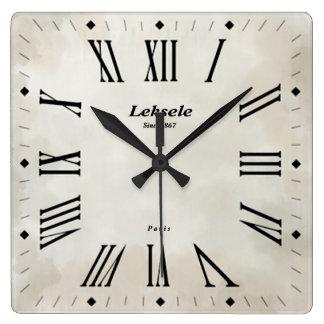 Vintage elegance clock