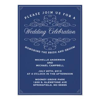 VINTAGE ELEGANCE | WEDDING INVITATION