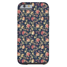 Vintage Elegant Floral Rose iPhone 6 case