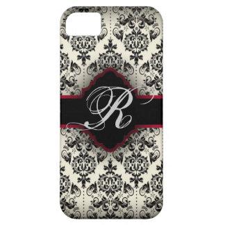 vintage elegant girly paris floral fashion iPhone SE/5/5s case