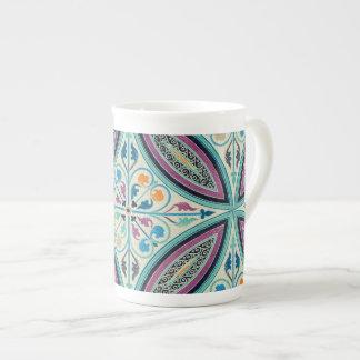 Vintage Elegant Moyen Age Medieval Graphic Design Tea Cup