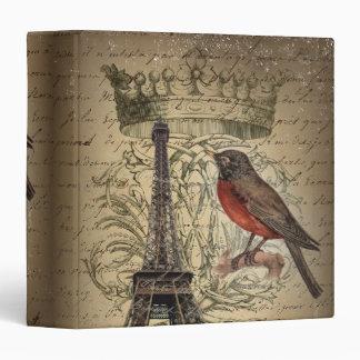 vintage elegante de París de la torre Eiffel del p