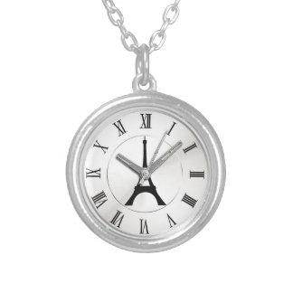 vintage elegante Eiffel París del reloj de bolsill Colgante Personalizado