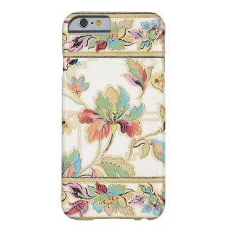 Vintage elegante floral funda para iPhone 6 barely there