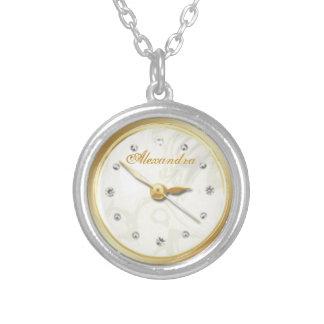 vintage elegante París del reloj de bolsillo Joyeria Personalizada