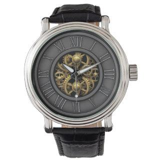 Vintage elegante Steampunk #5A Reloj