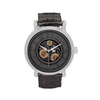 Vintage elegante Steampunk #5C Reloj