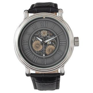 Vintage elegante Steampunk #5C Relojes De Mano