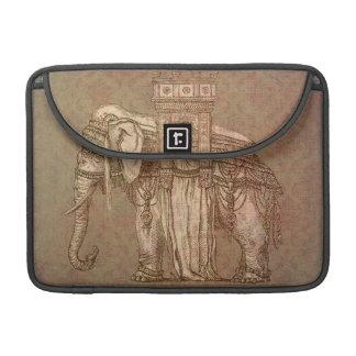 Vintage Elephant Bastille Sleeve For MacBooks
