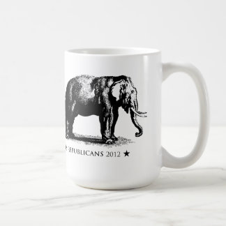 Vintage Elephant GOP Republican 2012 Mug