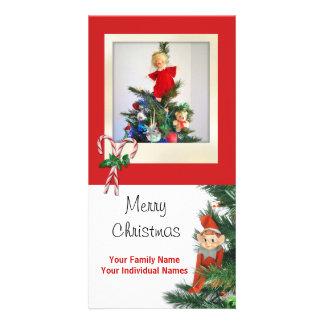 Vintage Elf Card