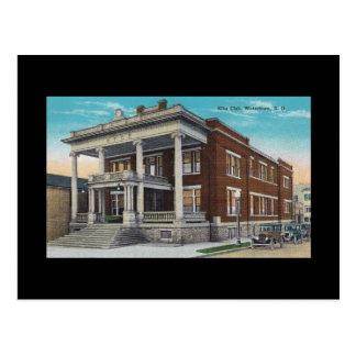 Vintage Elks Club Watertown South Dakota SD BLDG Postcards