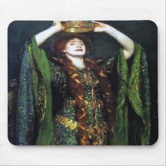 Vintage Ellen Terry as Lady Macbeth Mouse Pads