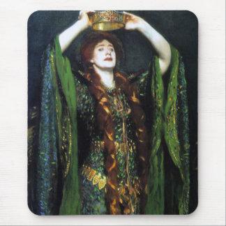 Vintage Ellen Terry como señora Macbeth Alfombrilla De Raton