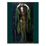 Vintage Ellen Terry como señora Macbeth Postal