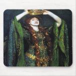 Vintage Ellen Terry como señora Macbeth Alfombrillas De Raton