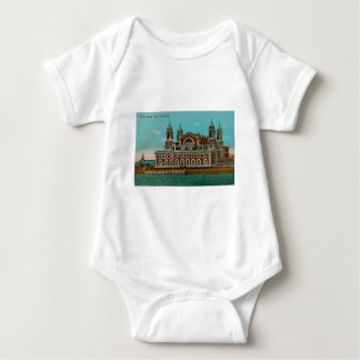 Vintage Ellis Island, New York City Baby Bodysuit