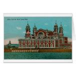 Vintage Ellis Island, New York City Greeting Card