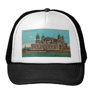 Vintage Ellis Island, New York City Trucker Hat