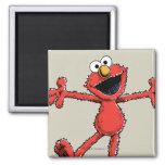 Vintage Elmo 2 Inch Square Magnet