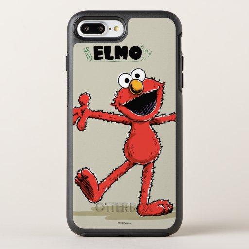 Vintage Elmo 2 OtterBox Symmetry iPhone 8 Plus/7 Plus Case