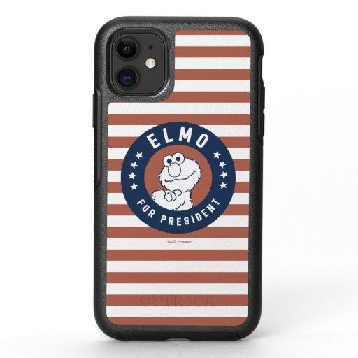 Vintage Elmo for President Badge OtterBox Symmetry iPhone 11 Case