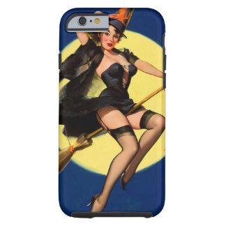 Vintage Elvgren Witch Pinup Girl Tough iPhone 6 Case